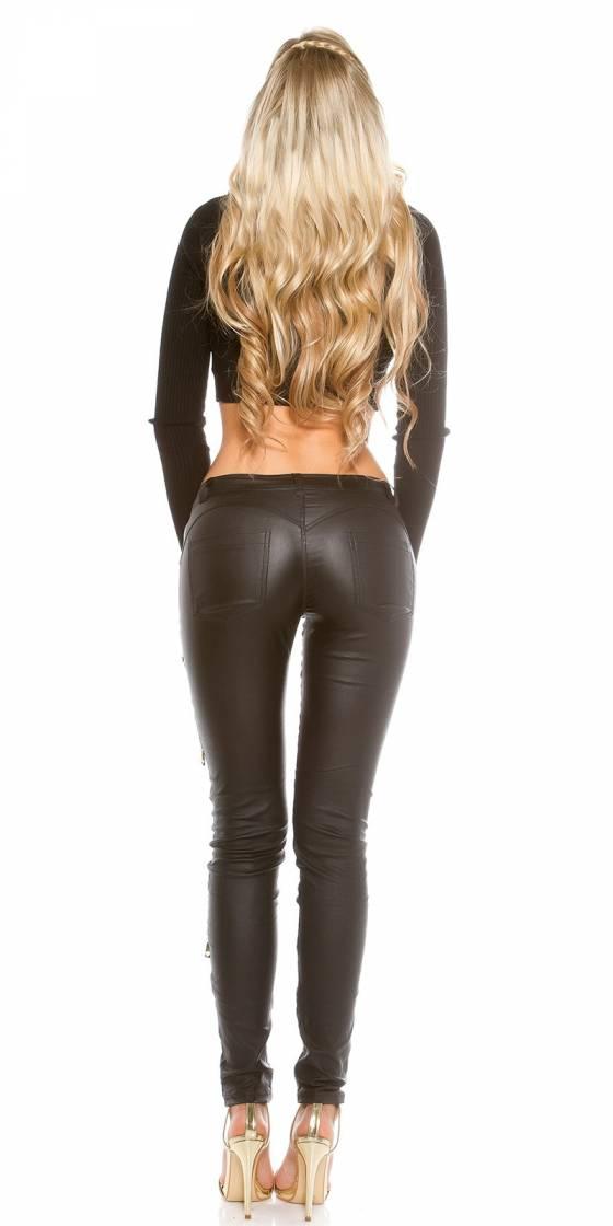 Pantalon sexy en simili...