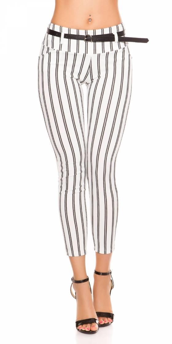 Pantalon tendance nouvelle collection ALESSIA couleur noir