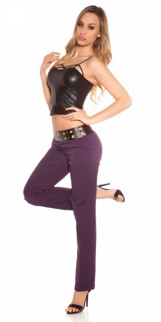 Long pull femme fashion CYLIA couleur noir