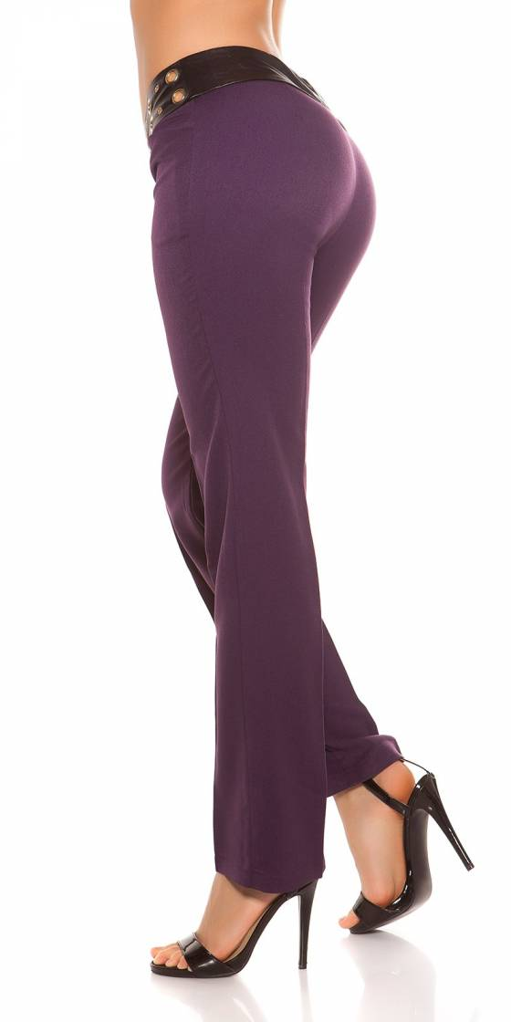 Long pull femme fashion CYLIA couleur rose