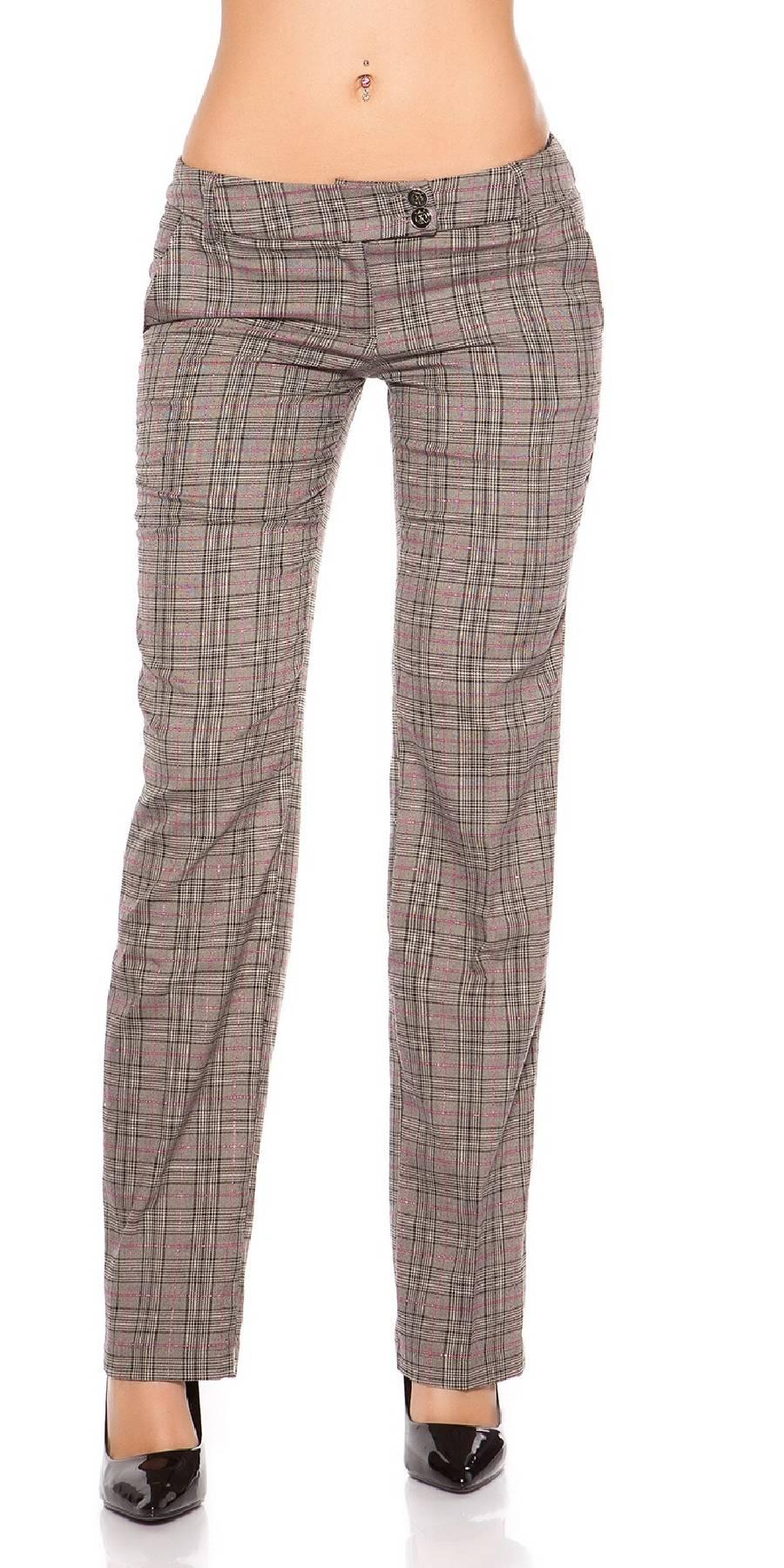 Pantalon tendance sexy MARINA couleur noir