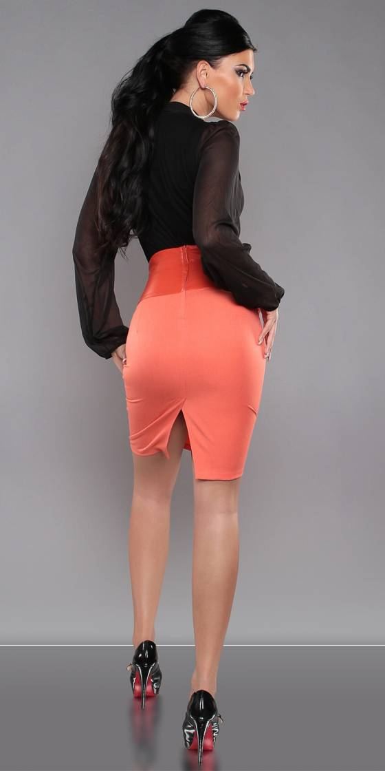Jupe crayon sexy taille...
