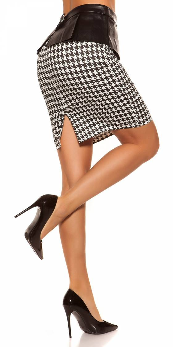 Leggings tendance sexy CLEA couleur noir