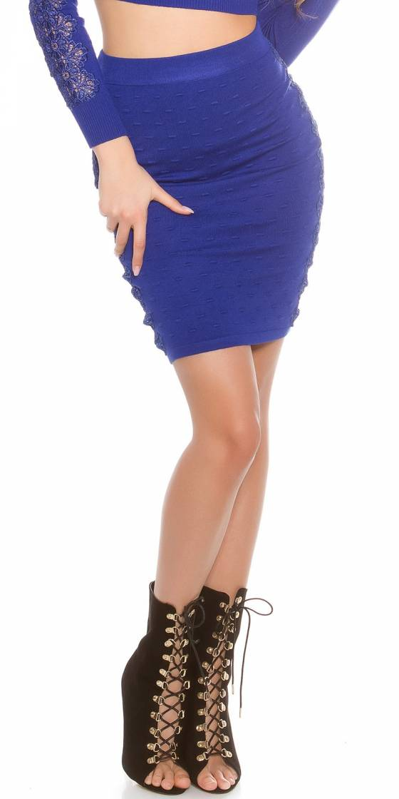 Leggings femme fashion LILYA couleur noir