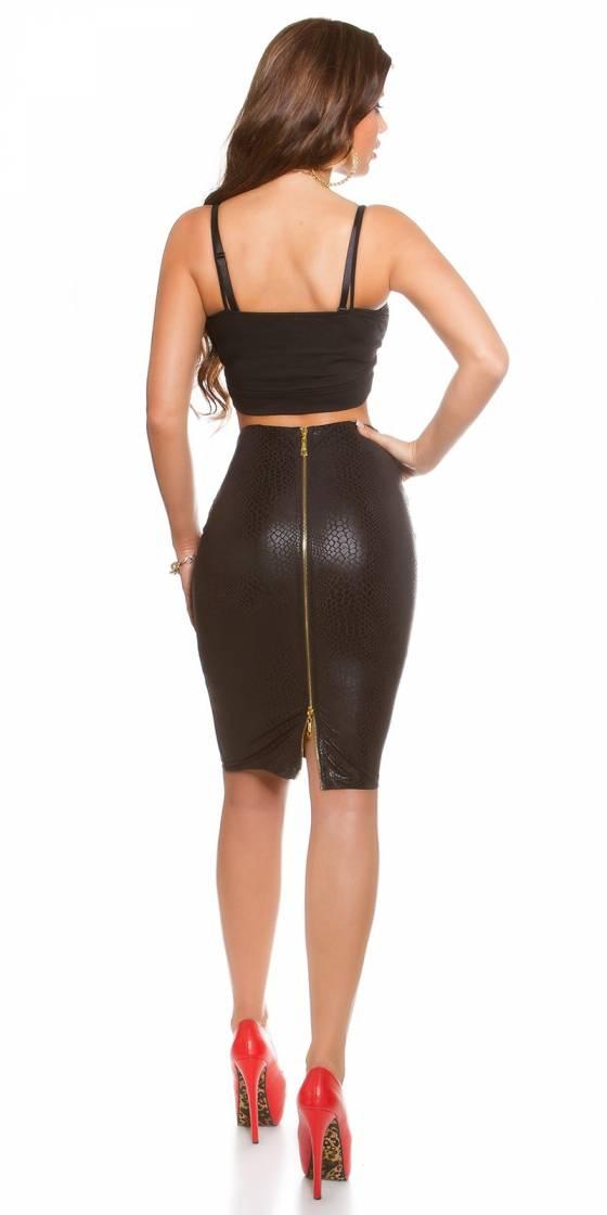 Robe sexy gogo nouvelle collection SELENE couleur noir