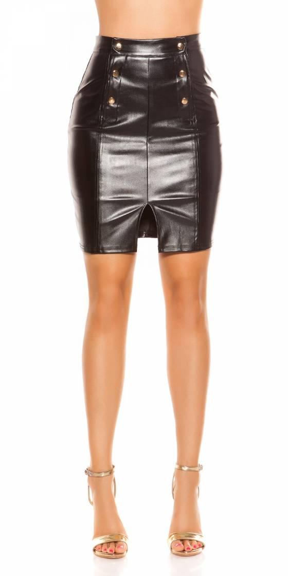 Treggings fashion CIARA couleur noir