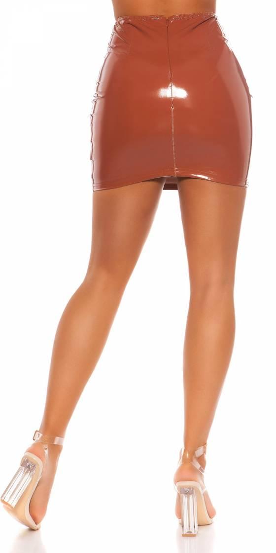 Leggings fashion sexy NAOMIE couleur bordeaux