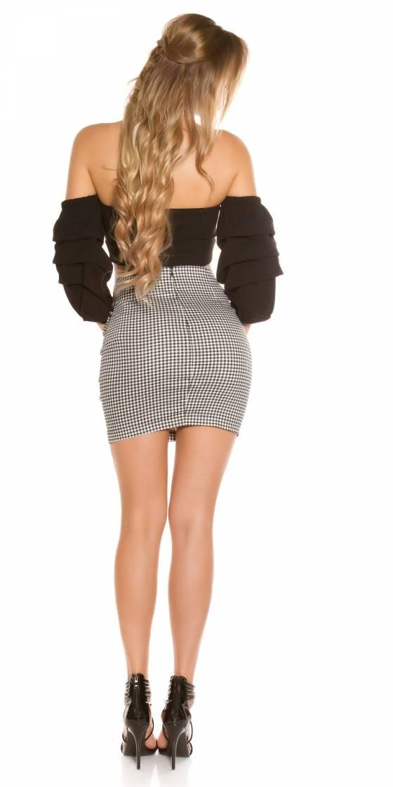 Mini jupe sexy avec laçage