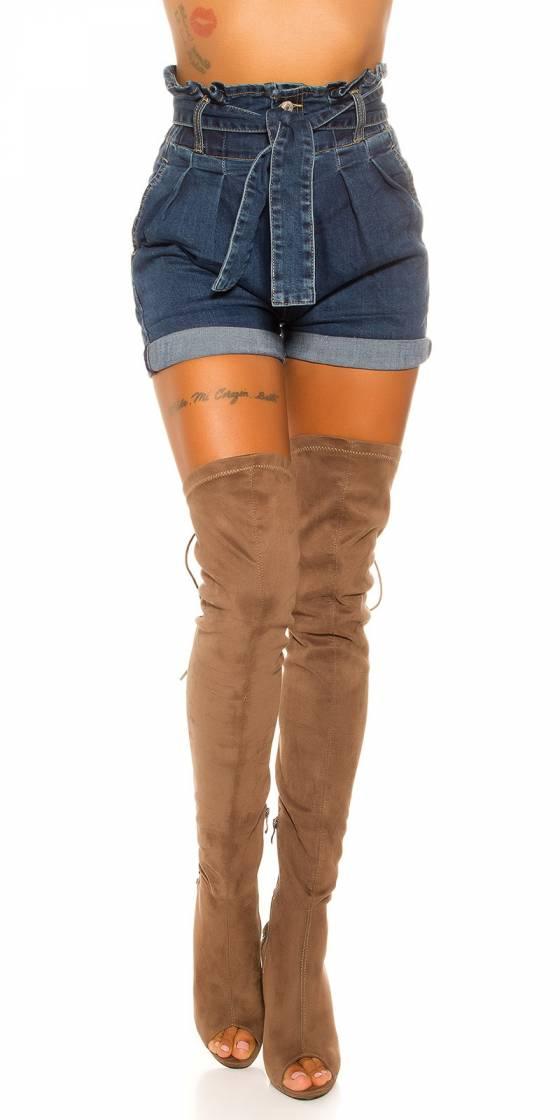 Combi tendance EVA avec ceinture couleur crème