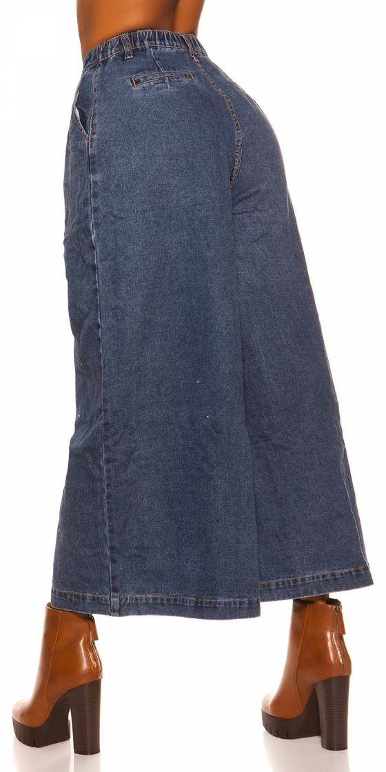 Jupe longue en Jeans sexy
