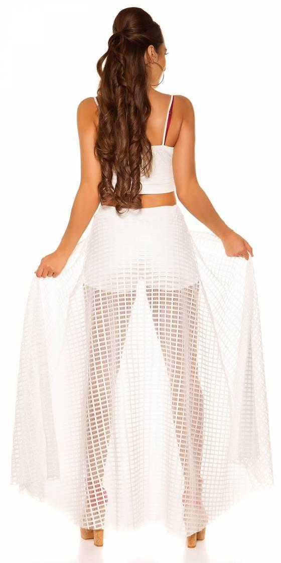 Short sexy avec jupe longue...