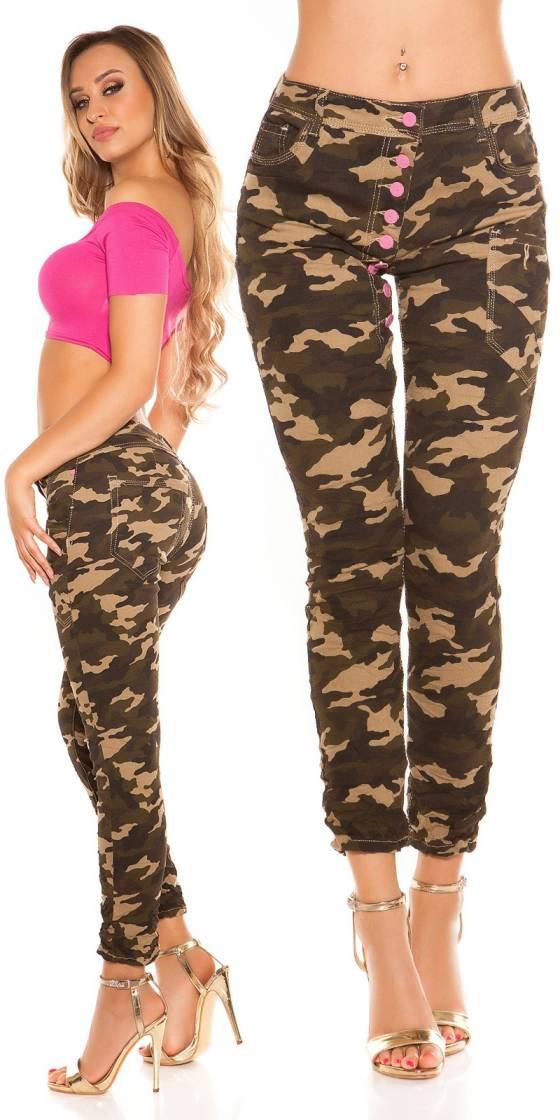 Trendy Koucla Army skinnies...