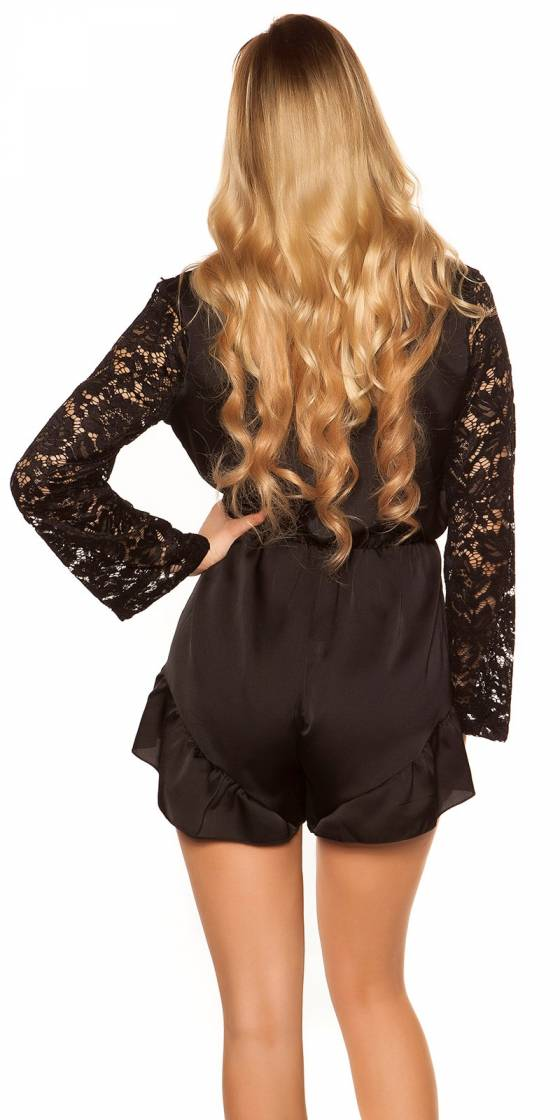 Sexy V-Cut playsuit in...