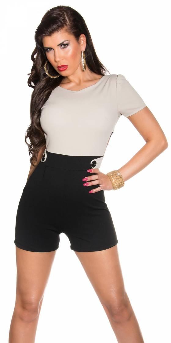 Sexy KouCla shorts jumpsuit...