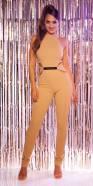 Sexy KouCla Neck jumpsuit + sexy insight, skinny