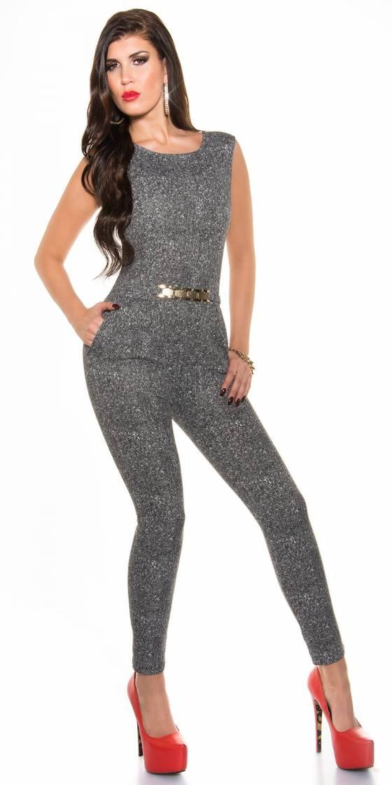 Top fashion ELYSSA couleur gris