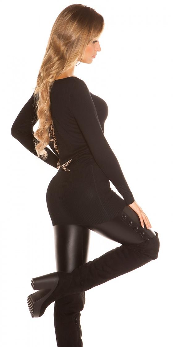 Combi sexy fashion EVA avec boucle couleur blanc
