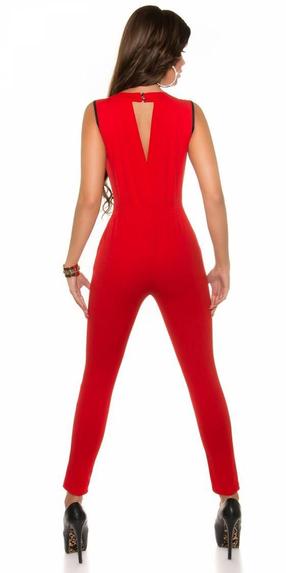 Top femme fashion KELISSA couleur rouge