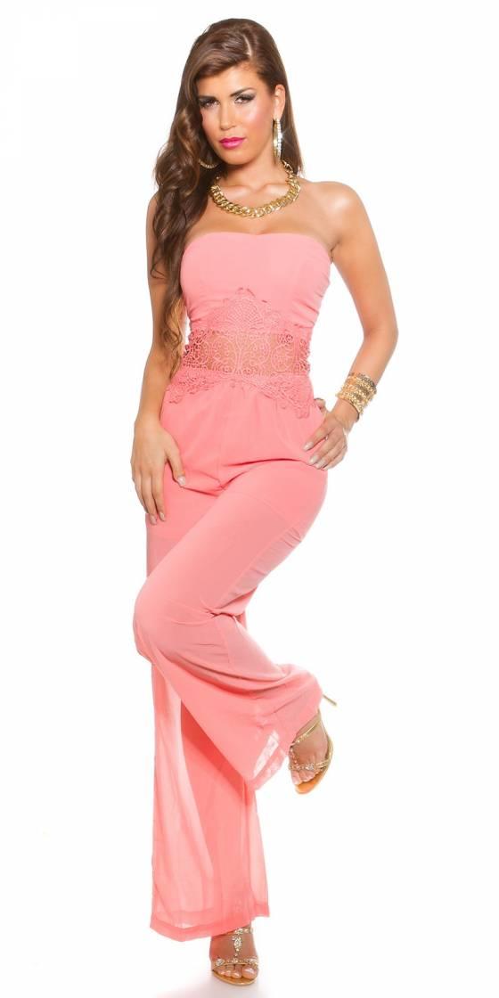 Top fashion ROXANE couleur corail