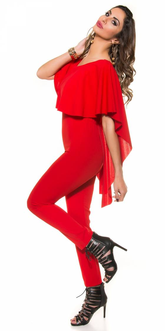 Top sexy tendance fashion LAURE couleur rouge