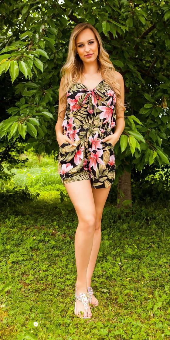 Robe tendance nouvelle collection KESSY couleur léopard/beige