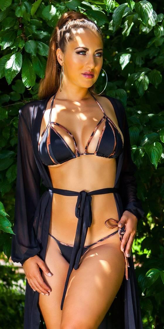 Sexy Neck-Bikini with...