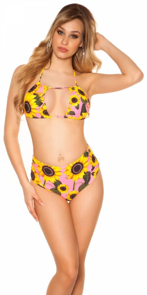 Bikini taille Haute imprimé...