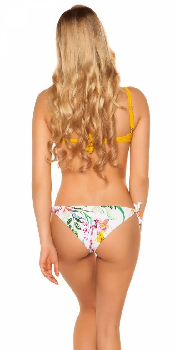 Bikini bi couleur sexy