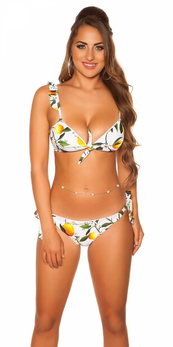 Bikini sexy à volants...
