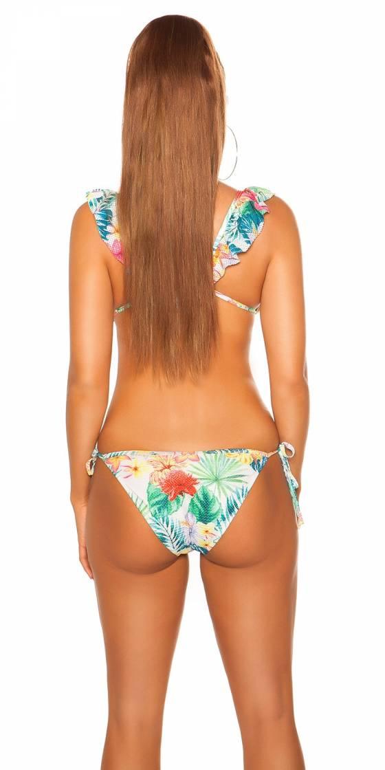 Bikini sexy avec imprimé...