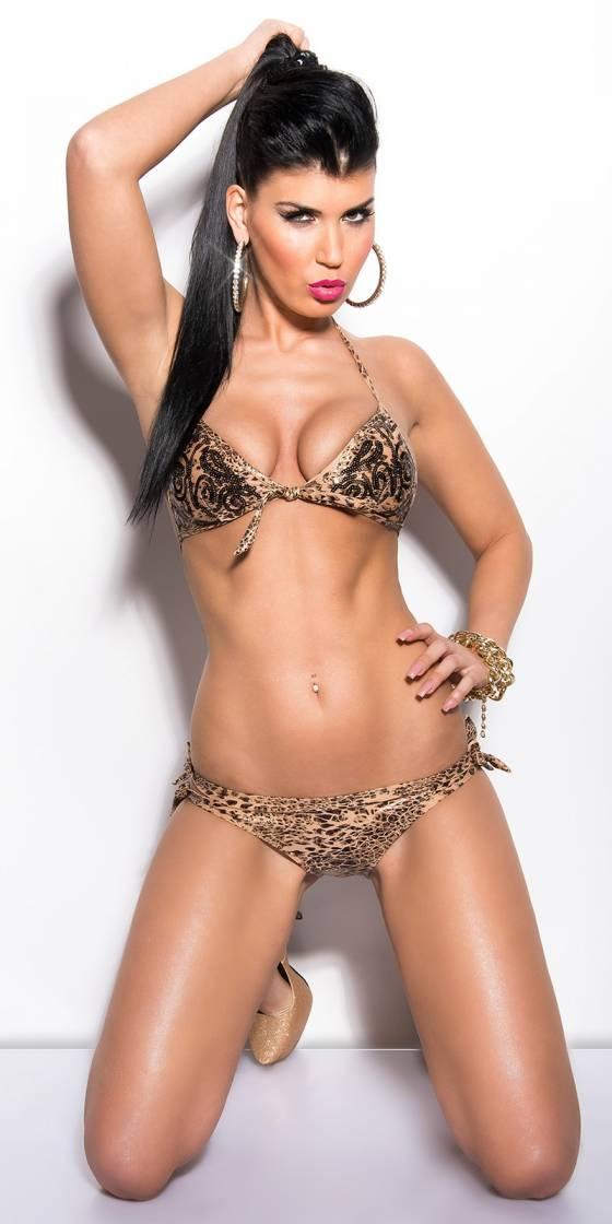 Bikini sexy avec noeud