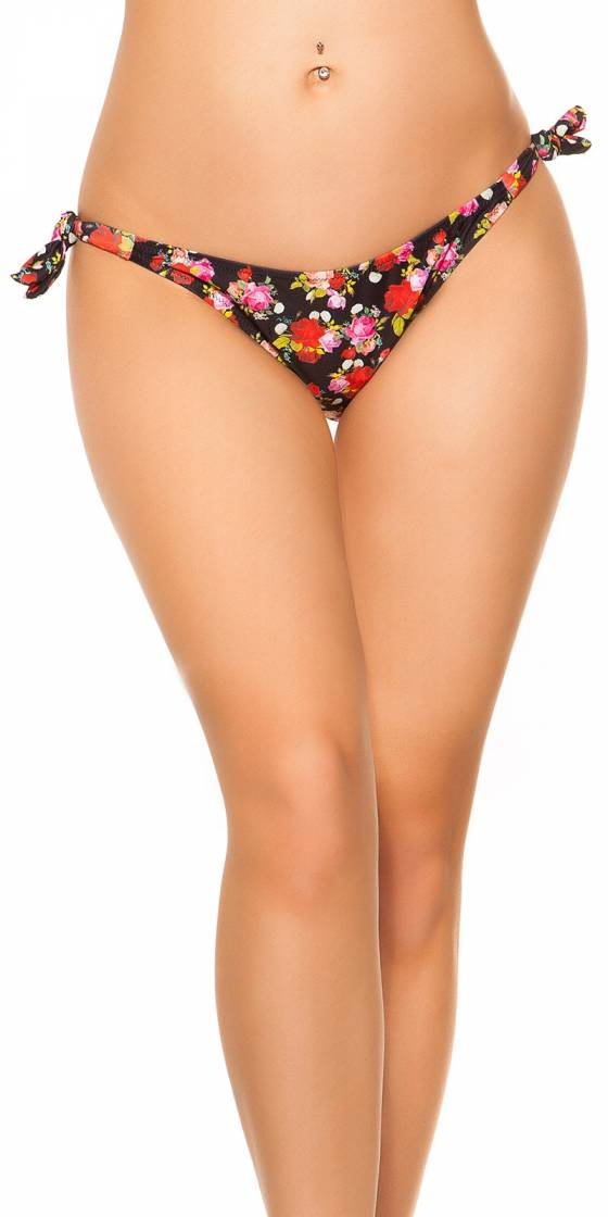 Bas de bikini sexy à nouer