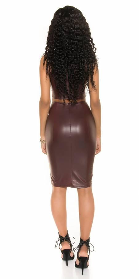 Doudoune sexy fashion JADE couleur noir