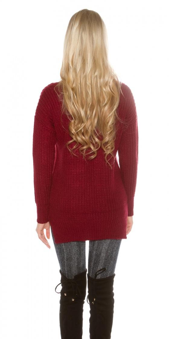 Jupe fashion ZORA couleur rouge