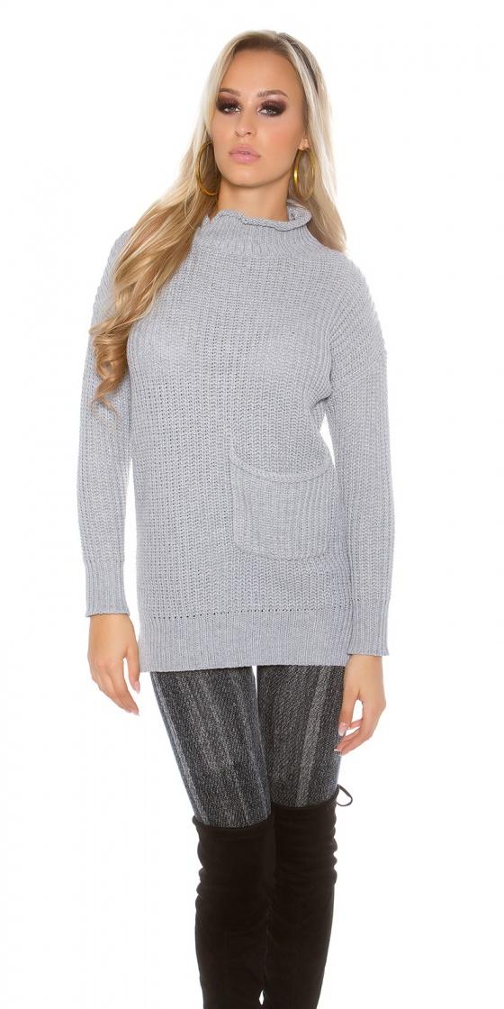 Jupe fashion SABRINA couleur gris