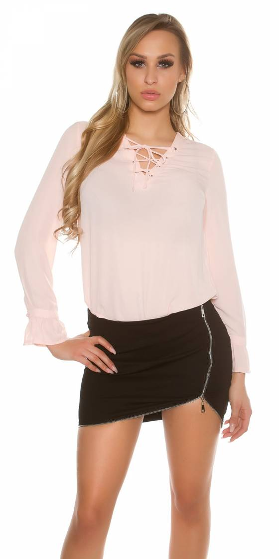 Sexy blouse with laced...