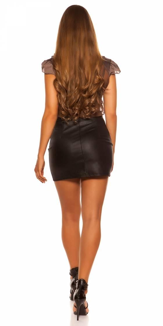 Pull femme fashion JENNA couleur marron