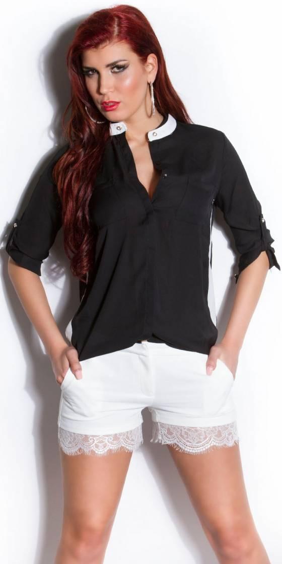 Jeans tendance nouvelle collection MAYLINE couleur noir