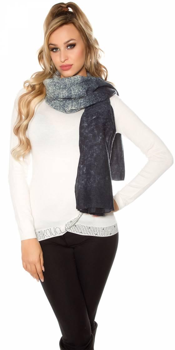 Trendy XL scarf / neck cloth