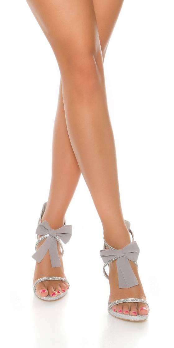 Sandales scintillantes sexy...