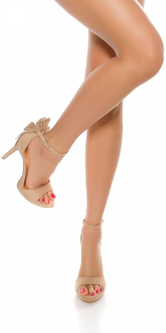 Sexy high heel sandal with...