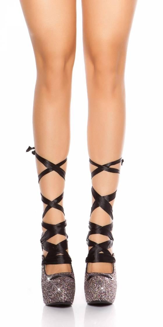 Escarpins scintillants sexy...