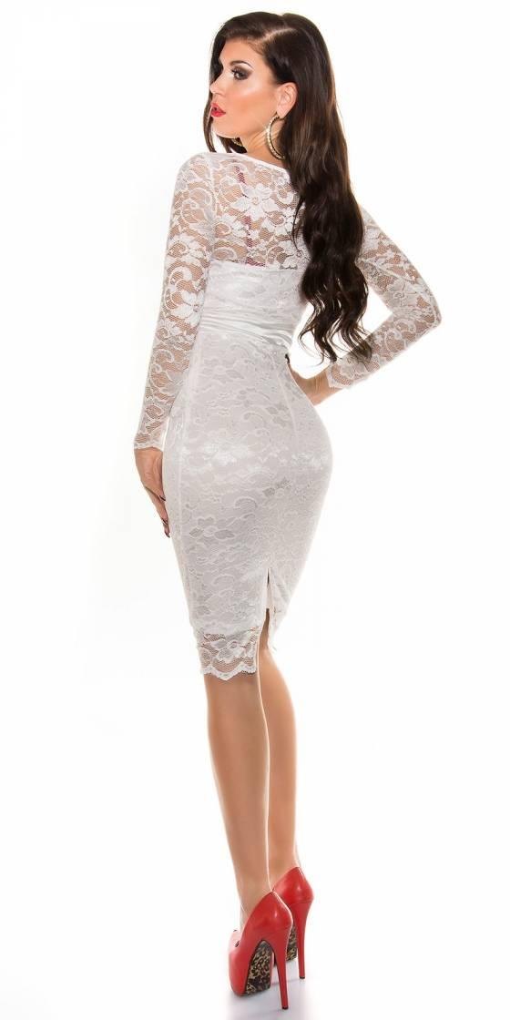 Sexy KouCla laced pencil dress