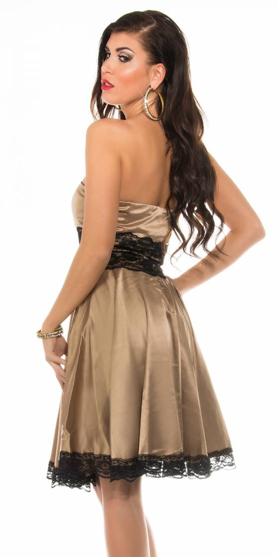 Mini robe bandeau de soirée...
