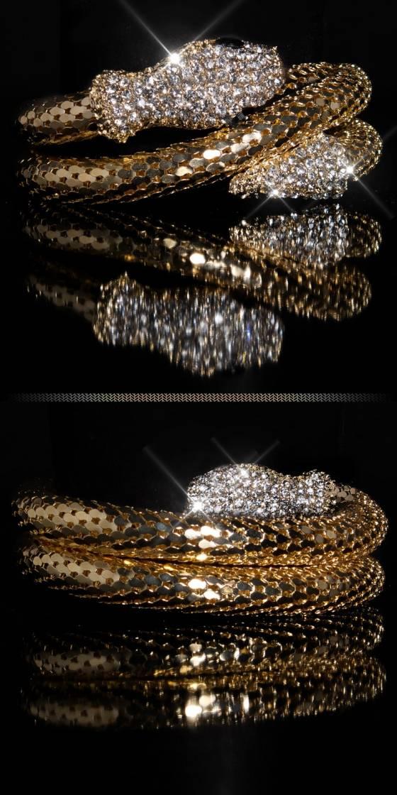Trendy Bracelet with snake...