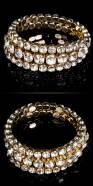 Sexy Rhinestones bracelet spiral