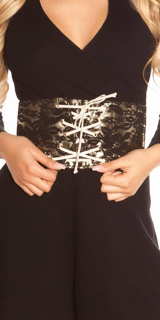 Sexy waist belt in corsage...