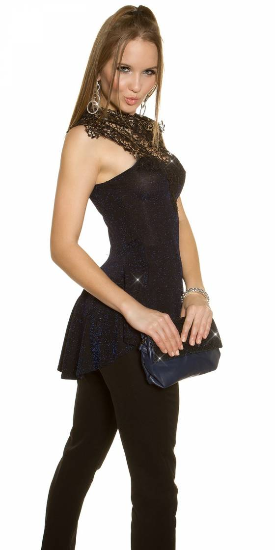 Glamour clutch with chain...