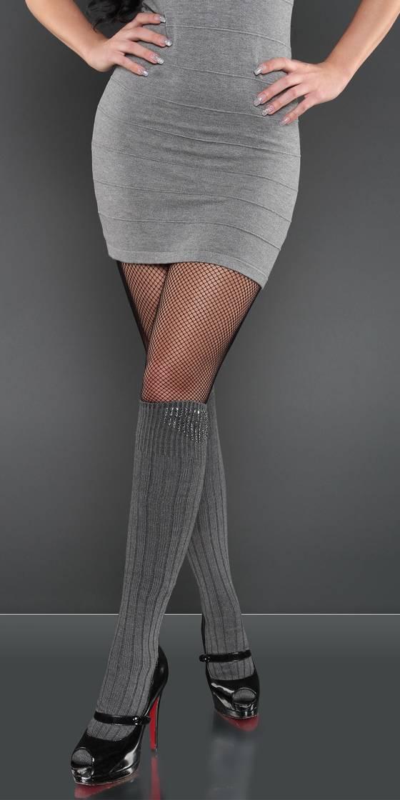 Long pull asymétrique tendance CASSIDY couleur gris
