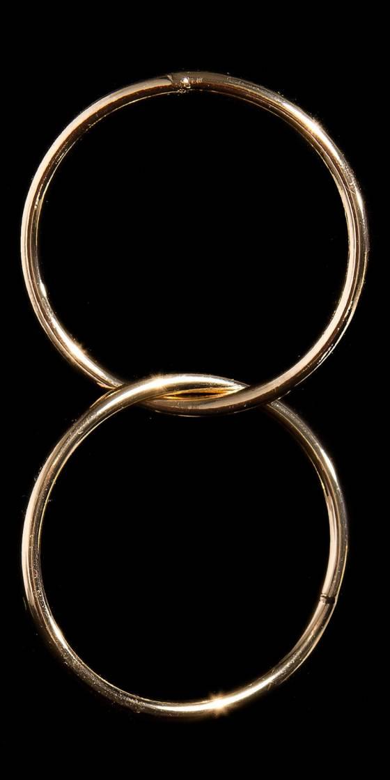 Trendy ear plug in ring optic